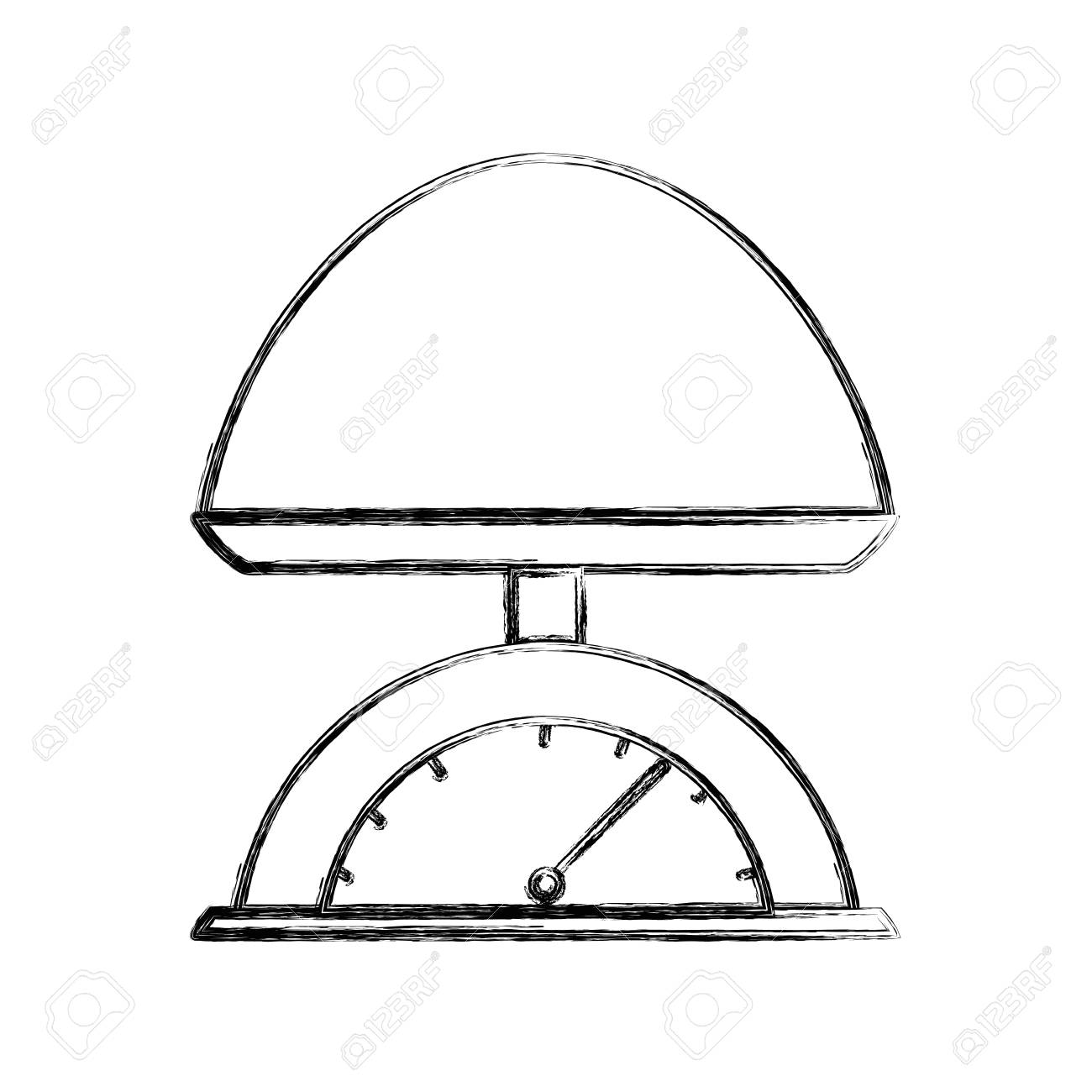 Weighing Scale Drawing at GetDrawings com | Free for personal use