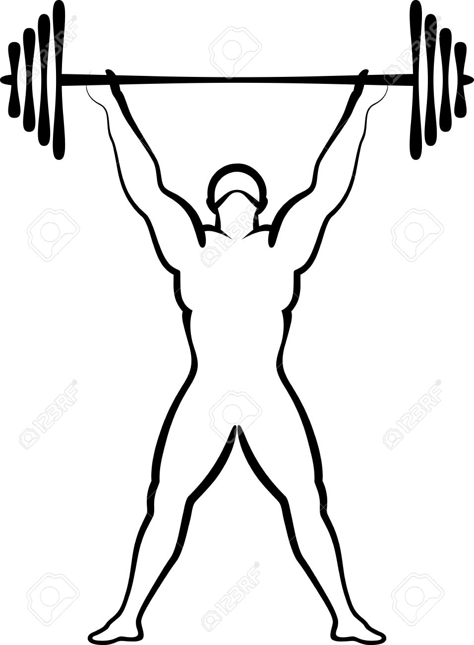956x1300 Weightlifting Royalty Free Cliparts, Vectors, And Stock