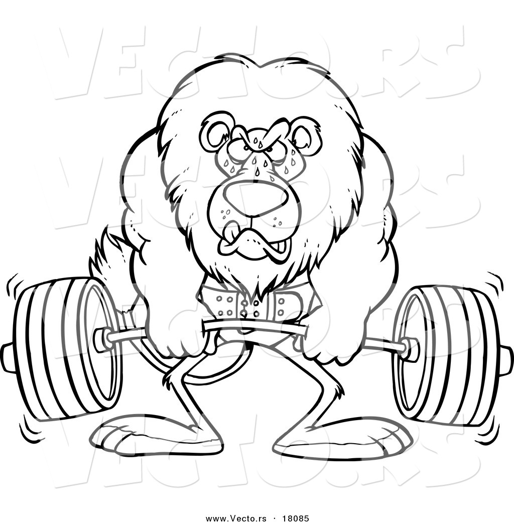 Weight Lifting Drawing at GetDrawings.com | Free for ...