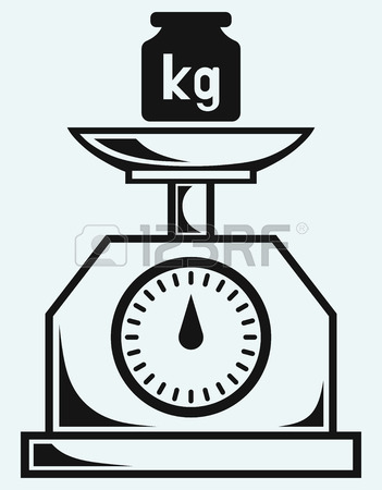 351x450 Weight Scale And Weight Kilogram Royalty Free Cliparts, Vectors