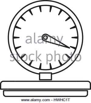 300x341 Delivery Weight Scale Stock Vector Art Amp Illustration, Vector