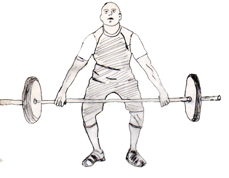 450x350 Hang Snatch Fitness Trainer