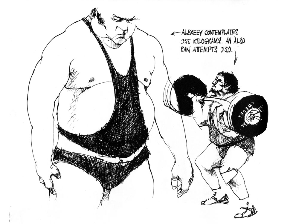 1000x750 Montreal Olympics Weightlifter Alekseyev Was A Real Life Hercules