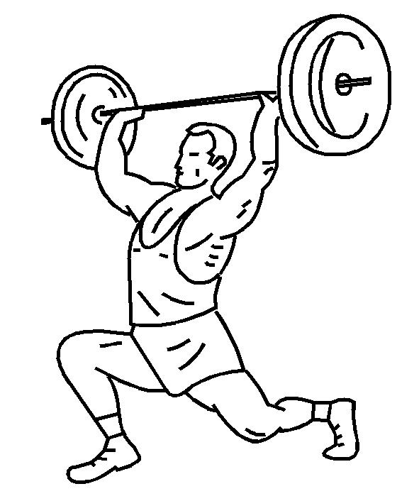 591x706 Weight Lifting