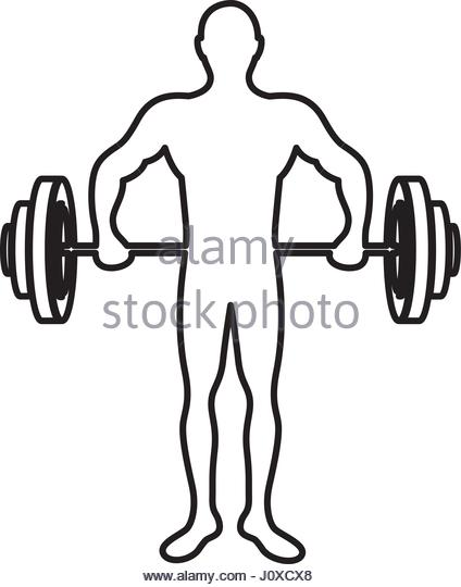 424x540 Weightlifting Stock Vector Images