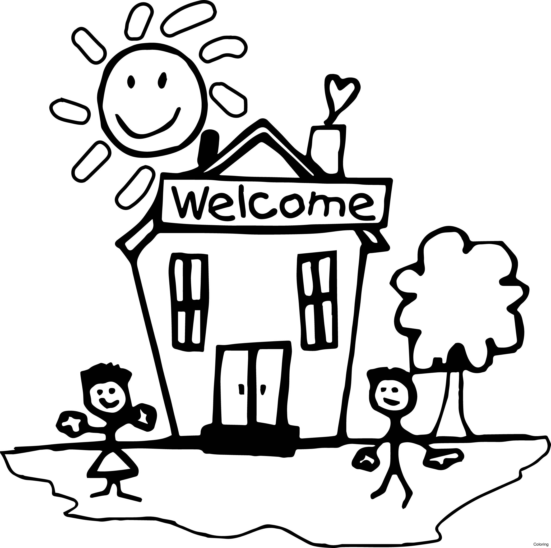 Welcome Drawing at GetDrawings | Free download