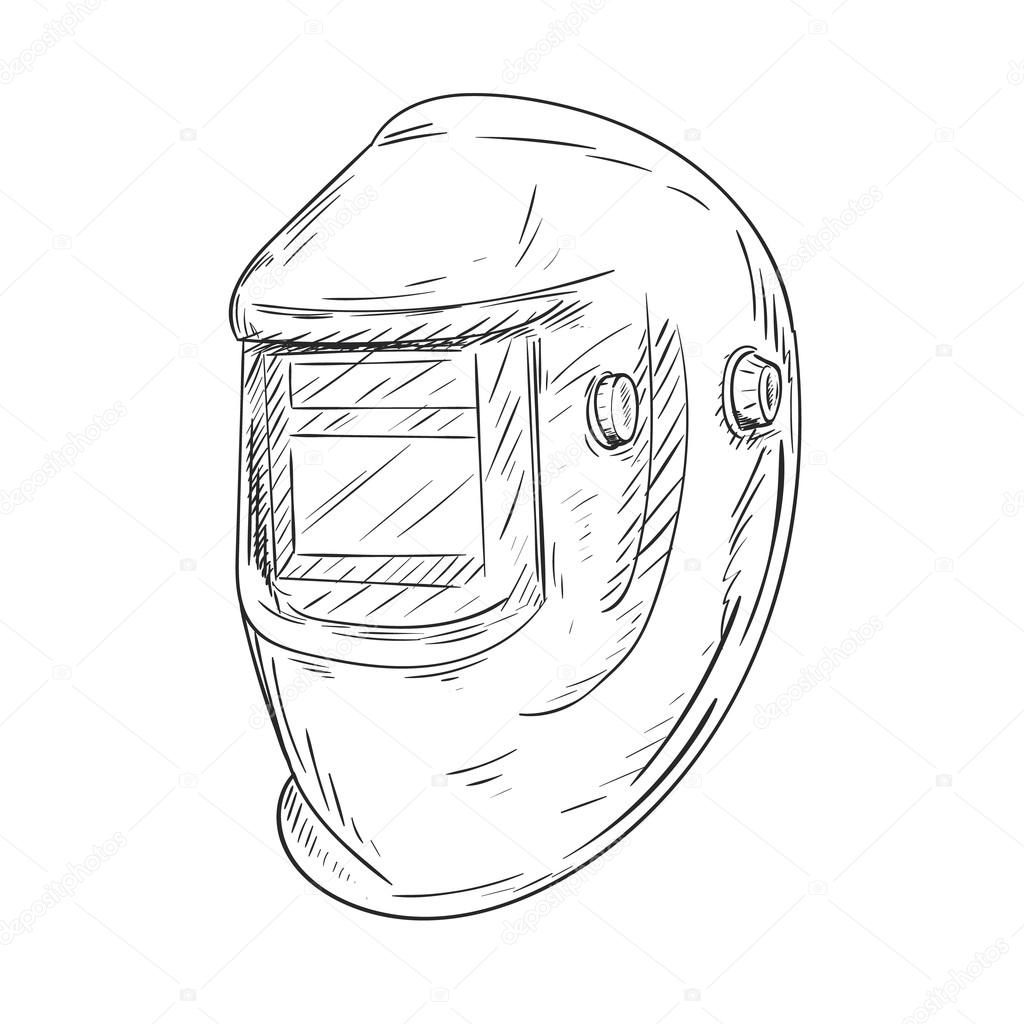 Welding Mask Schematic Auto Electrical Wiring Diagram Hello And Help Sip Topmig 195 Mig Forum Helmet Drawing At Getdrawings Com Free For Personal Use Rh Gas Metal Arc Overhead