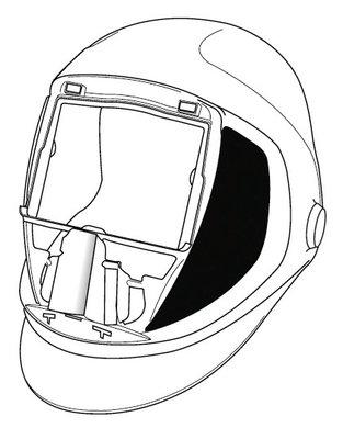 Welding Helmet Drawing At Getdrawings Com