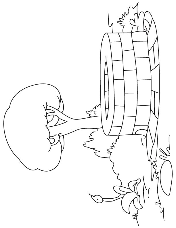 612x792 Well In Village Coloring Page Download Free Well In Village
