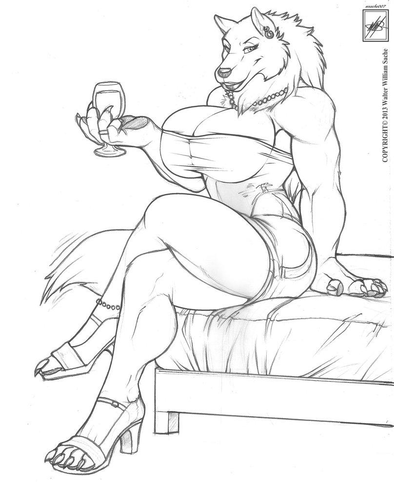 Werewolves Drawing