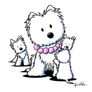 300x300 West Highland White Terrier Drawings Fine Art America