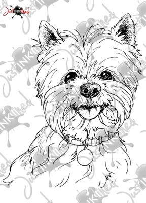 288x400 Westie Coloring Pages