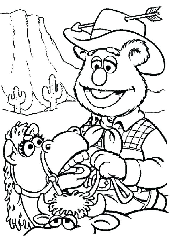 600x837 Western Coloring Pages Wild West Coloring Pages Western Town