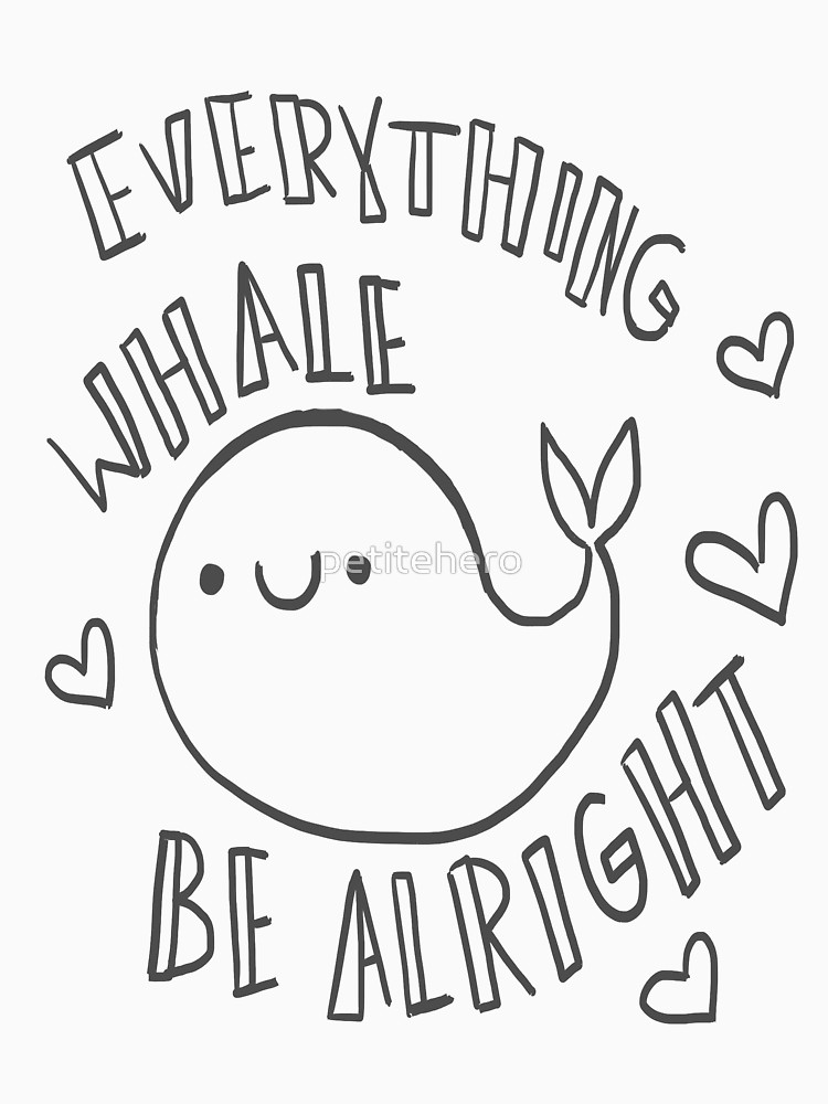 how to draw a whale cute