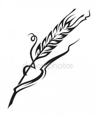368x450 Rice Field Drawing Stock Vectors, Royalty Free Rice Field Drawing