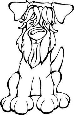 236x366 Soft Coated Wheaten Terrier Dog Cartoon Poster Zazzle