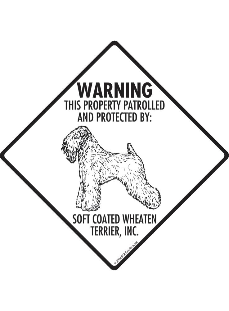 738x1000 Warning! Soft Coated Wheaten Terrier