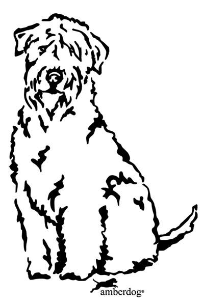 400x603 Wheaten Terrier Drawing