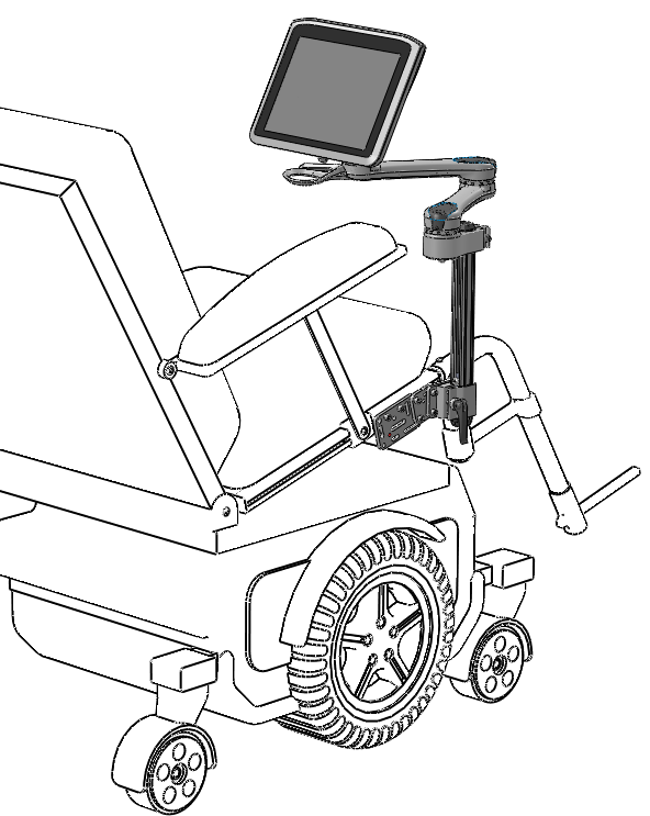 592x743 Wheelchair Mounting Overview Mount'N Mover