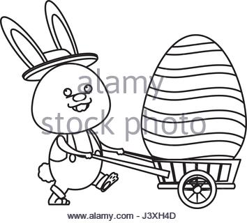 354x320 Hare With Wheelbarrow Stock Photo, Royalty Free Image 40118251