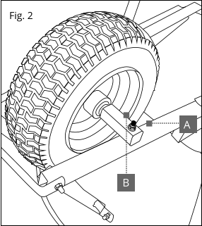 286x321 Replace A Wheelbarrow Wheel