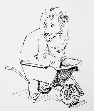 320x374 Wheelbarrow Drawings On Paigeeworld. Pictures Of Wheelbarrow
