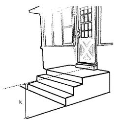 236x245 Stair Amp Porch Ramp Plan Dimensions K. Total Rise (Slope) Of Yard