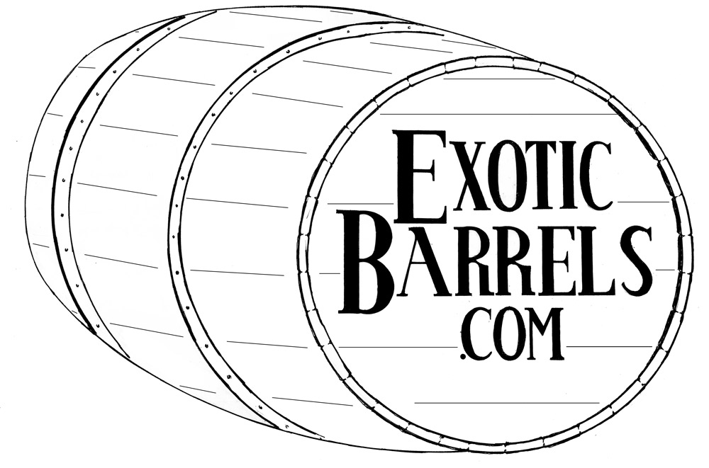 1000x661 53 Gallon Whiskey Barrels (Used 3 4 Times)