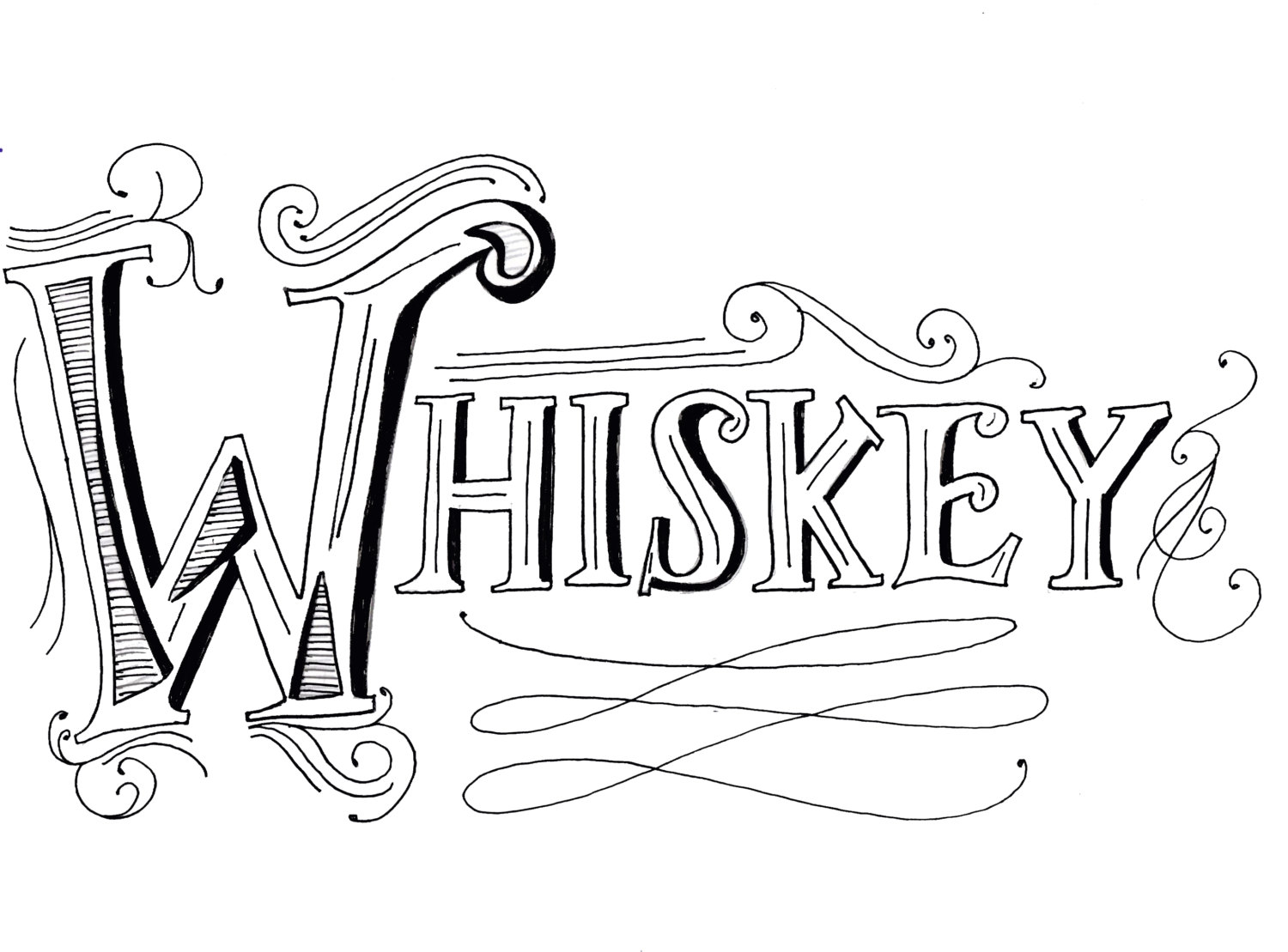 Whiskey Drawing At Free For Personal Use Still Diagram 1500x1109 Dog Names Jameson Jack Booker Want Whisky