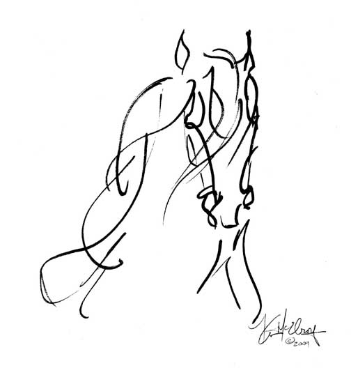504x528 Whispers Spirit Of Horse Art Equine Art Paintings Gifts