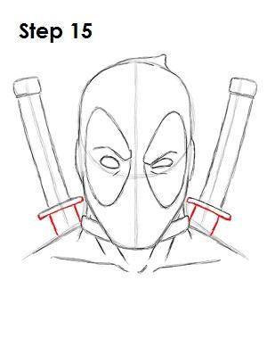 300x388 Deadpool Marvel Drawing 15 Art Deadpool, Wade