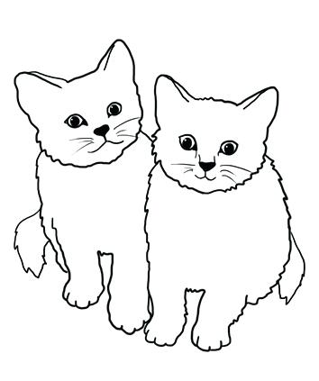 354x423 Cat Clipart Pin Cat Easy White Cat Clipart Png Memocards.co