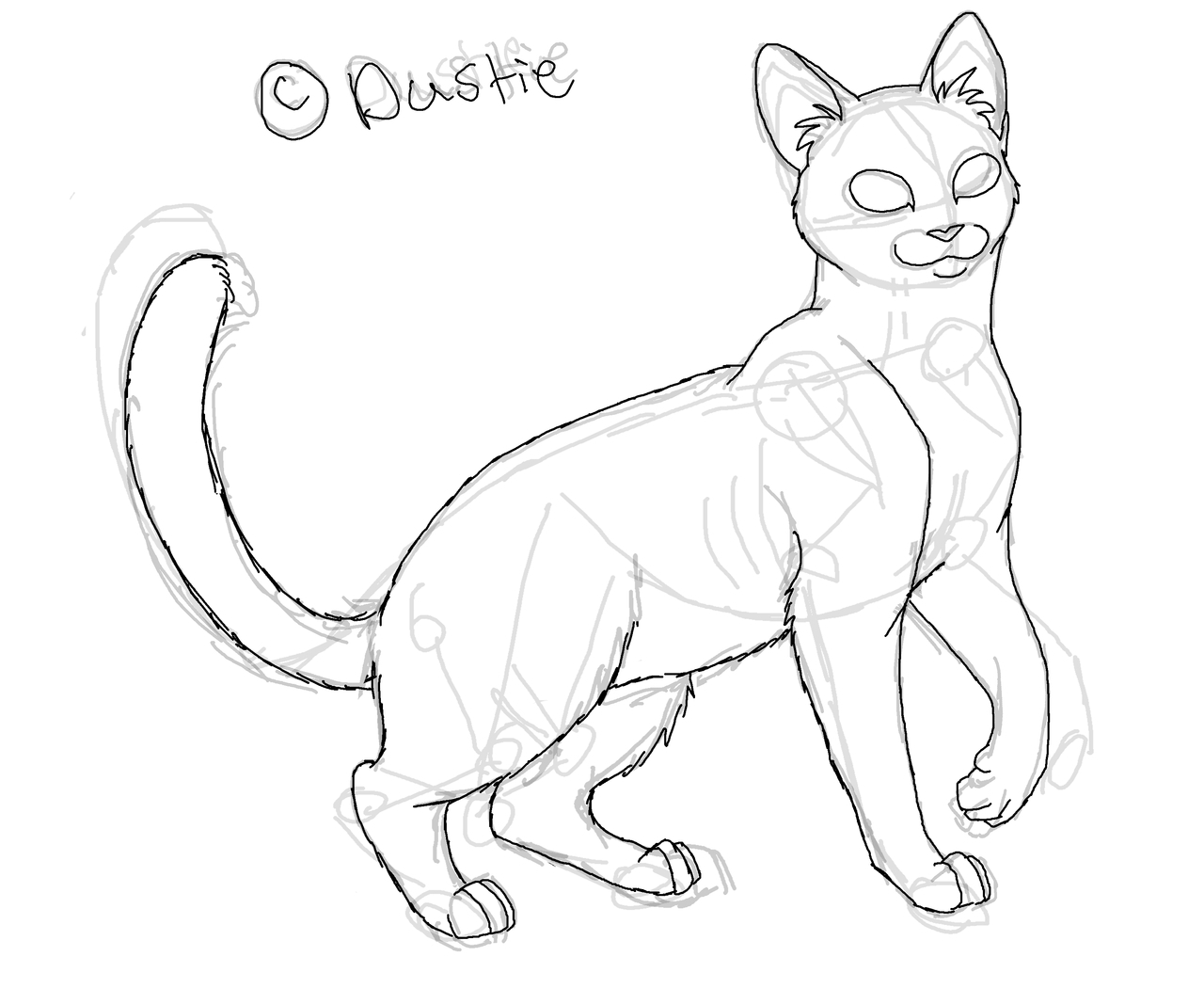 1280x1067 Warrior Cat Drawing Easy To Draw Cats Roadrunnersae