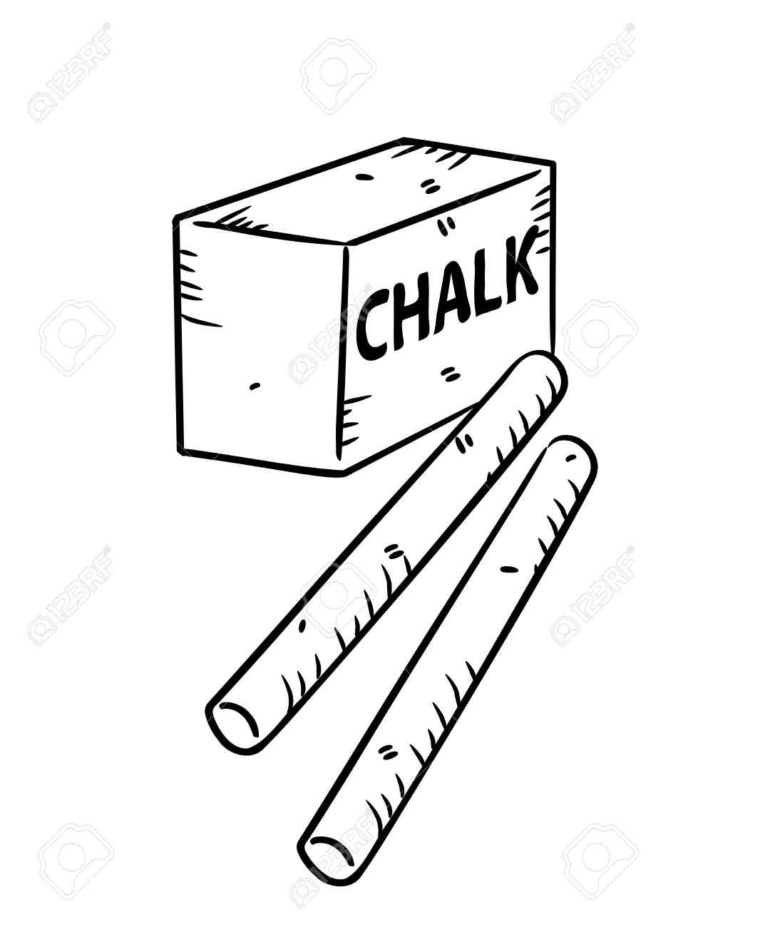1087x1300 Chalk In Doodle Style Royalty Free Cliparts, Vectors, And Stock