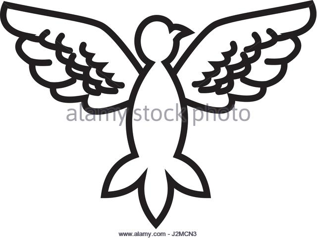 640x484 Drawing Holy Spirit Dove Symbol Stock Photos Amp Drawing Holy Spirit