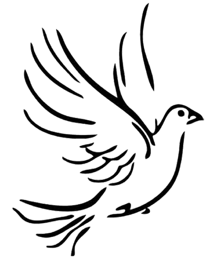 White Doves Drawing at GetDrawings.com | Free for personal use White ...