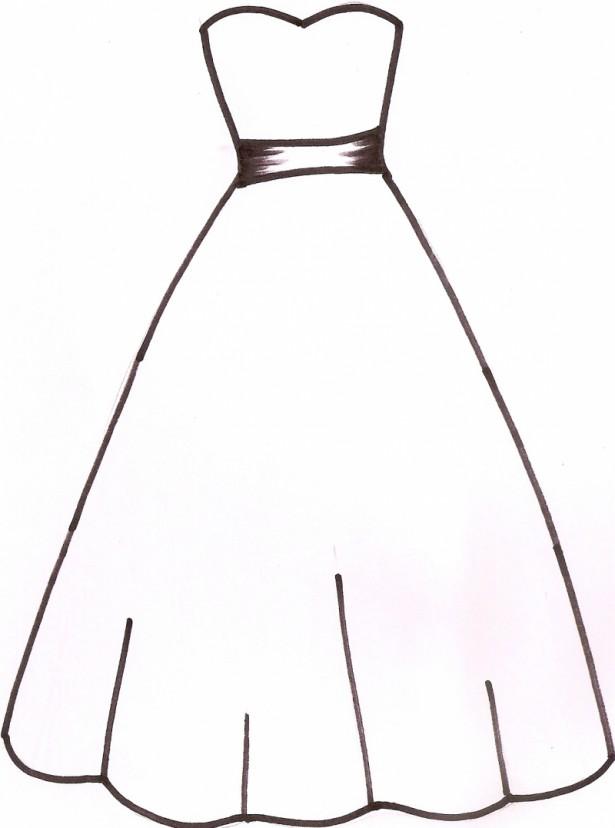 615x828 Bridesmaid Dress Clipart Dresses Trend