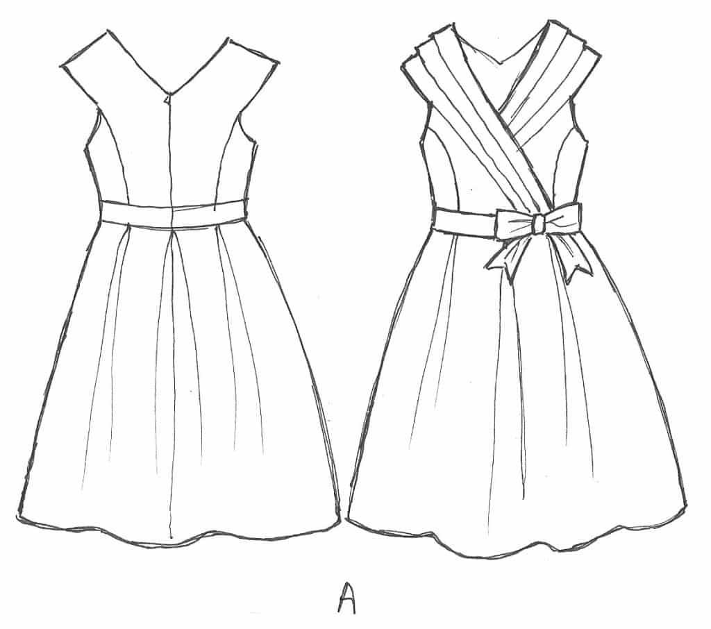 1024x906 15 Creative Dress Sketches