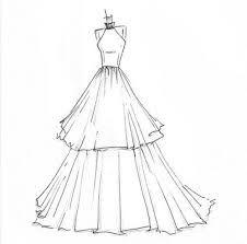 226x223 Dreamlines Wedding Dress Sketch