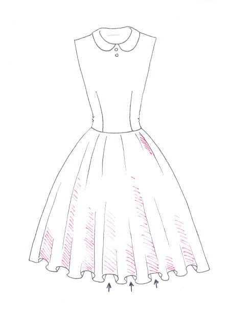 450x637 Exciting How To Draw Dresses Step By Step 46 On Plus Size White