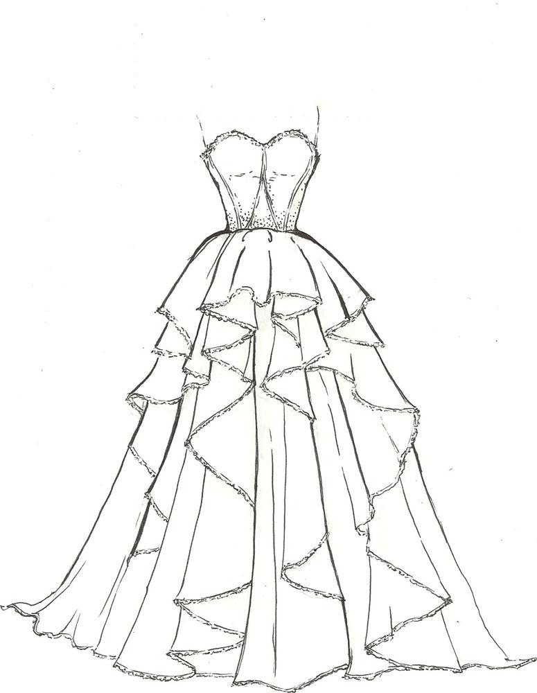 775x1000 Artists Original Fashion Illustration Sketch Pencil Drawing