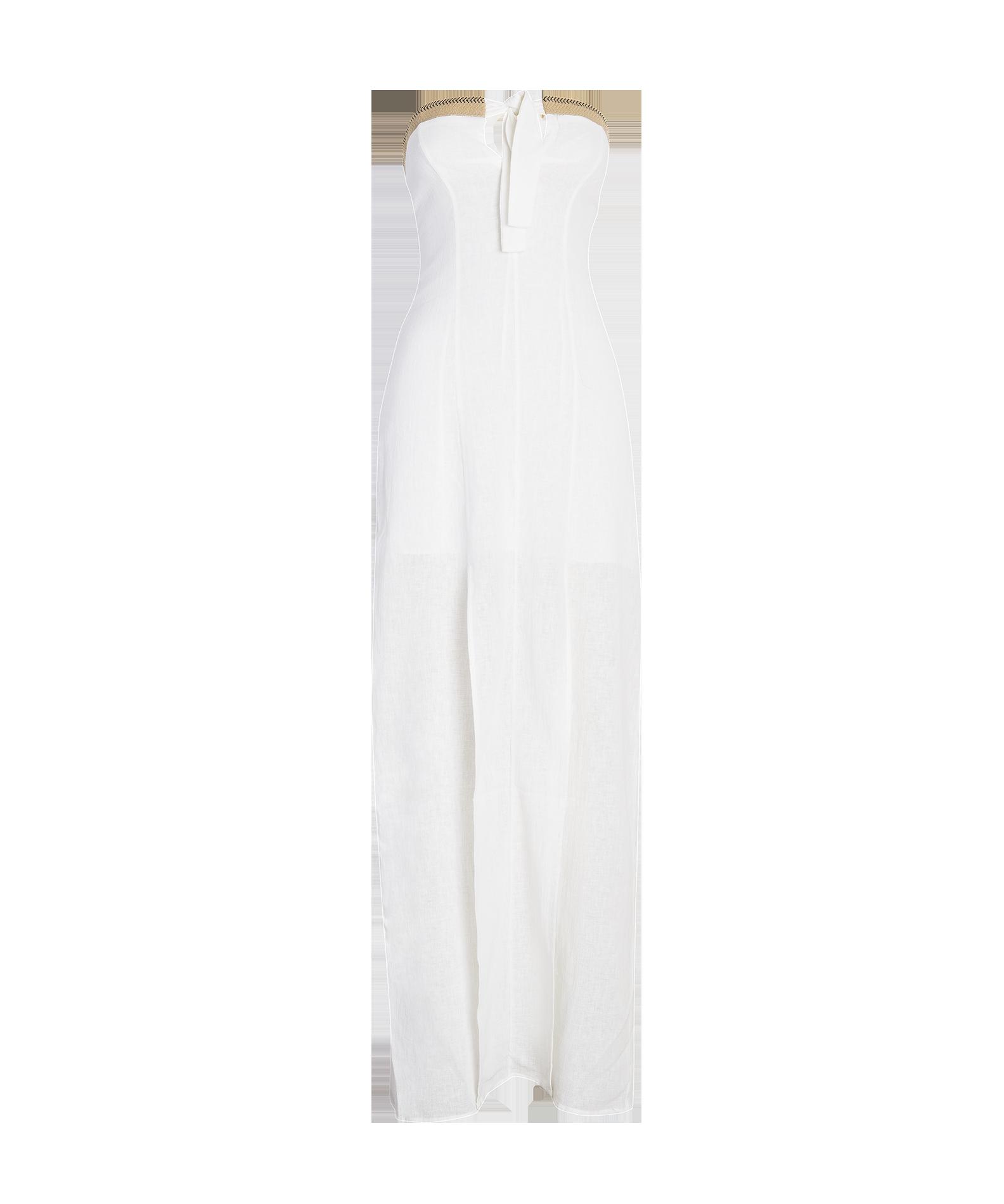 1584x1900 Solid Off White Maria Long Dress Vix Swimwear