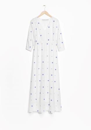 313x446 V Neck Maxi Dress