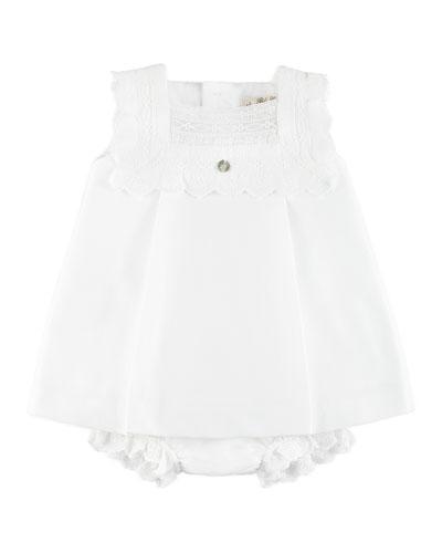 400x500 White Bow Dress Neiman Marcus