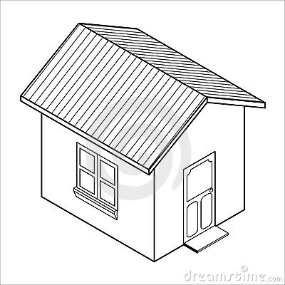 Superbe 400x400 Collection House Drawing 3d Photos,