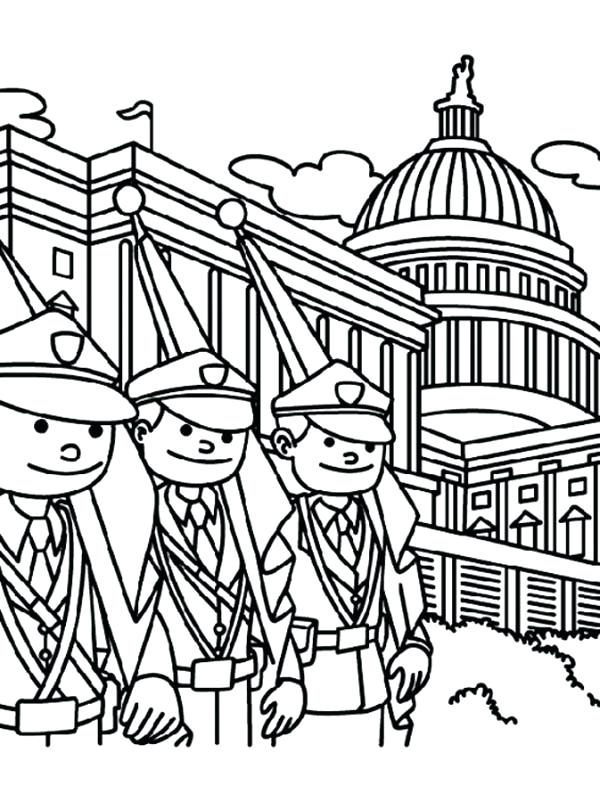 600x810 Elegant The White House Coloring Page Fee Pages Related Clip Arts
