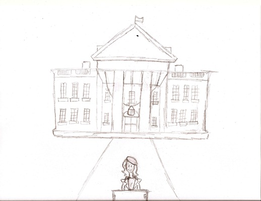518x400 Image Result For Black And White Sketch Of White House Milligan