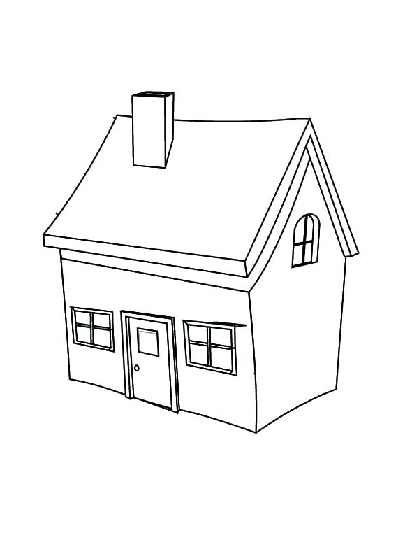 600x782 Elegant The White House Coloring Page Fee