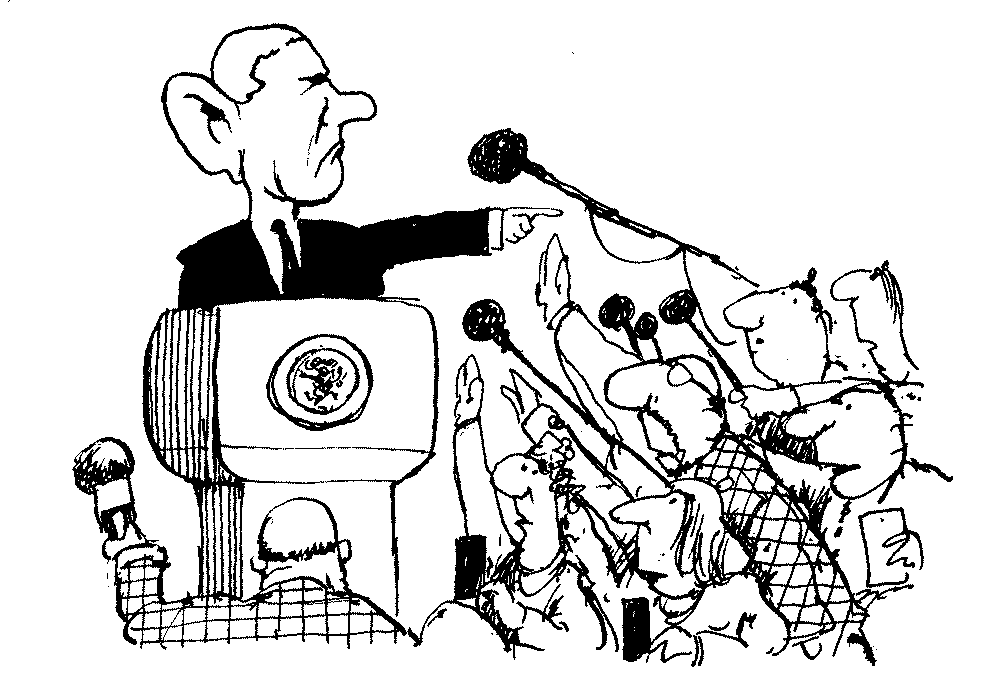 1000x698 Fiction Coup! Ch. 16 President Pence Meets The Press