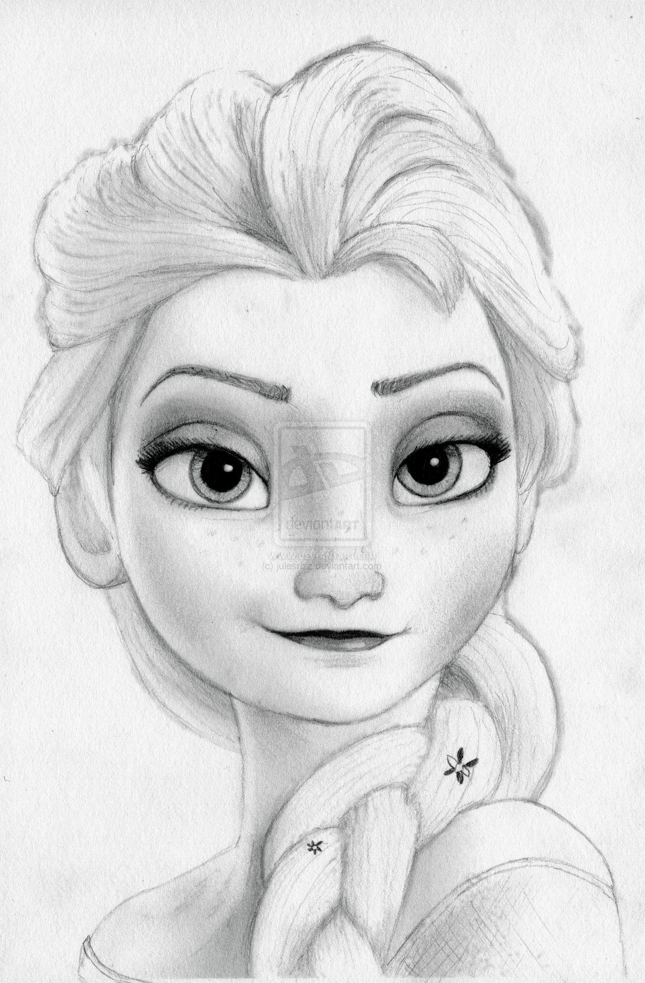 1280x1949 Elsa From Frozen Drawing Of Elsa And Anna From Frozen Frozen'S